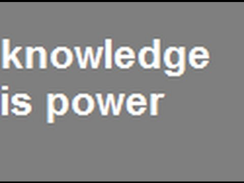 Neely Fuller Jr- Knowledge And Ignorance