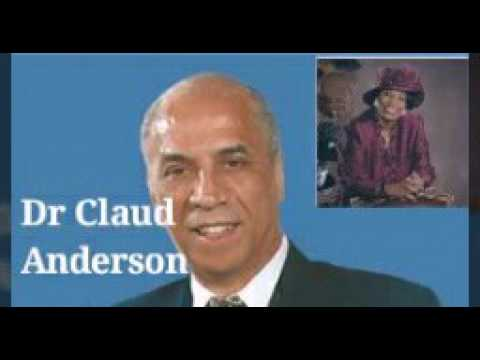 Dr. Claud Anderson: Blog Talk Radio. Black People Wake Up! Economical Solutions. 💯💰