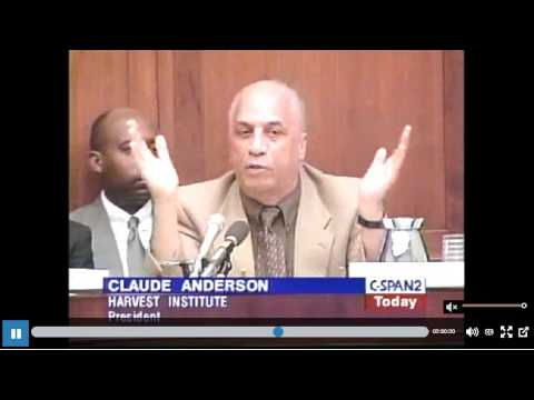 Dr Claud Anderson Black Americans Will Buried Alive Without Reparations Think Outside The Box