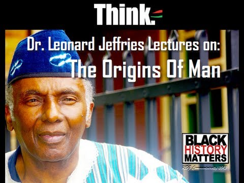 RBG-Dr. Leonard Jeffries Lectures On The Origins Of Man