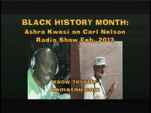 Ashra Kwesi Interview – Black History, the Untold Story