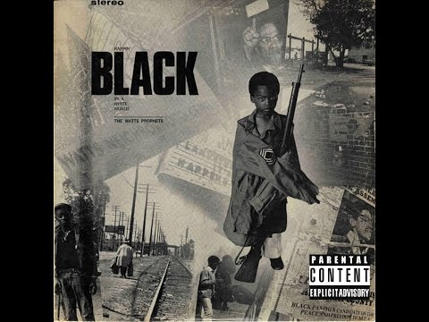 There's A Difference Between A Black Man And A Nigger™ – Watts Prophets® 1970's