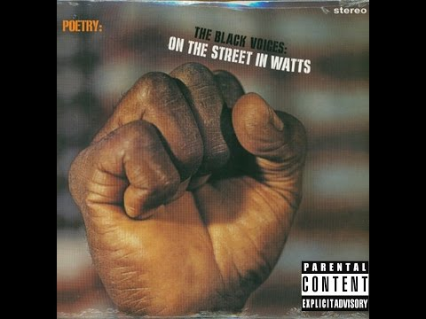 Saint America™ – THE BLACK VOICES: ON THE STREET IN WATTS™ 1960's