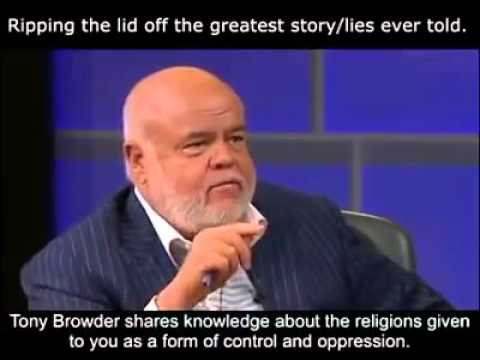 Tony Browder on Religion