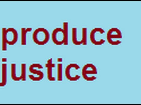 Neely Fuller Jr- Justice Is A Product That Has To Be Produced