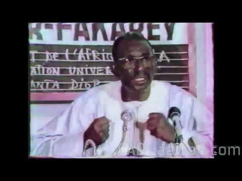 Cheikh Anta Diop 2/4: Conférence de Niamey intégrale (1984) HISTOIRE