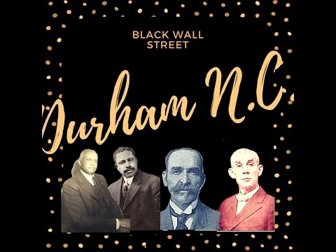 The First Black Wall Street {Durham, NC}