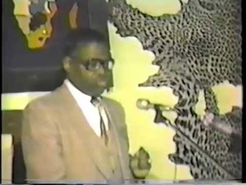 Dr. Yosef Ben Jochannan: Black Male & Female Relationships