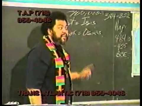 Dr. Ishakamusa Barashango – Blacks in the Bible Pt.6