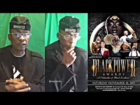 11.13.17- Professor Griff: Black Power Awards   Sirius Mindz