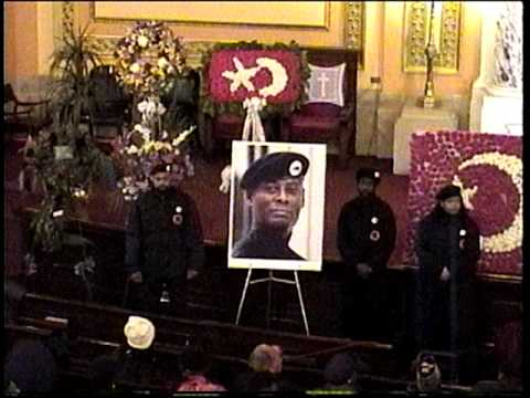 Funeral Guest for Khalid Muhammad