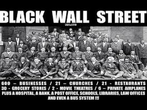 NATIVE AMERICAN INDIANS & NEGROS IN BLACK WALL STREET