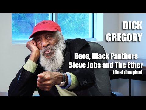 Dick Gregory – On Bees and Black Panthers