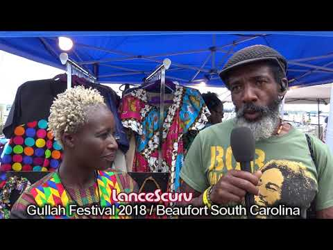 Gorgeous African Model Talks Black Business At The 2018 Gullah Festival! – The LanceScurv Show