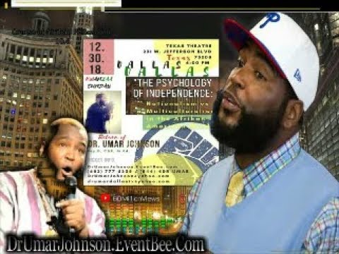 (8-11-2018) DR. UMAR- FBI TARGET/ THEY TEACH UR KIDS/ NO EQUALITY/ ECONOMICS/ CHICAGO / WORST TIMES