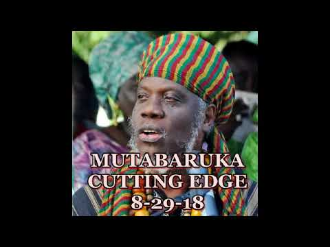 Mutabaruka CUTTING EDGE 8 29 18