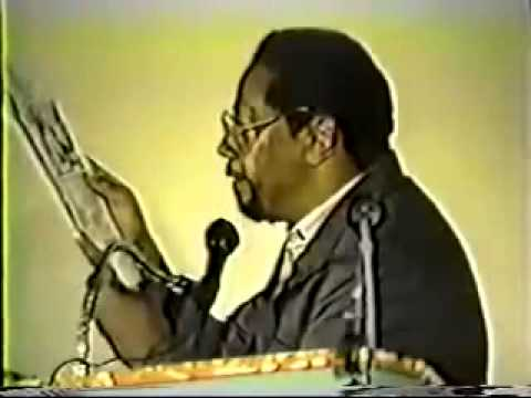 Dr Amos Wilson Lecture Total War