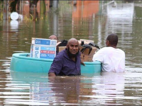 Jamaca News Today, Downtown Kingston, Marcus Garvey Drive flooded