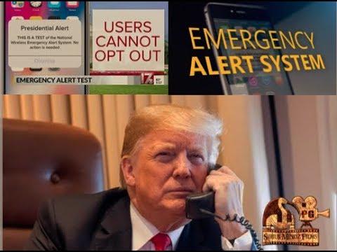 National Test of the Wireless Emergency Alerts (WEA) on Sirius Mindz w/Professor Griff