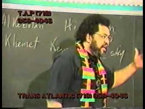 Dr. Ishakamusa Barashango – Blacks in the Bible Pt.3