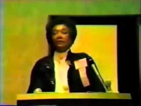 Dr. Frances Cress Welsing – The Cress Theory of Black Mental Health