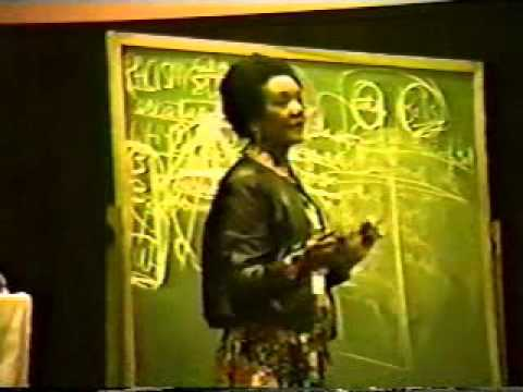 Racism & Mental Health Dr  Frances Cress Welsing