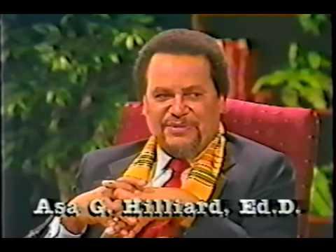 Dr. Asa Hilliard – On African History Hosted By Listervelt Middleton Pt.6of8