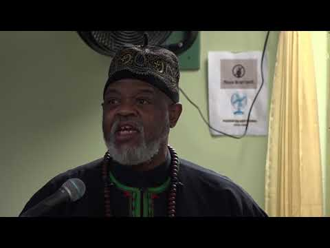 "THE LEGACY OF MALCOLM X by Professor James ""Baba"" Smalls at The Mosque of Islamic Brotherhood Harlem"