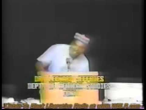 The Albany Speech – Dr. Leonard Jeffries PT 1