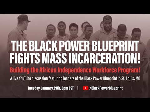 The Black Power Blueprint Fights Mass Incarceration!