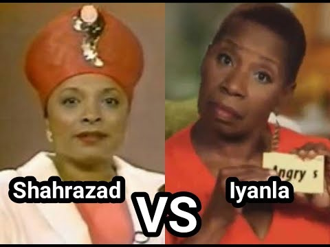When Iyanla Vanzant Attacked Shahrazad Ali On Geraldo