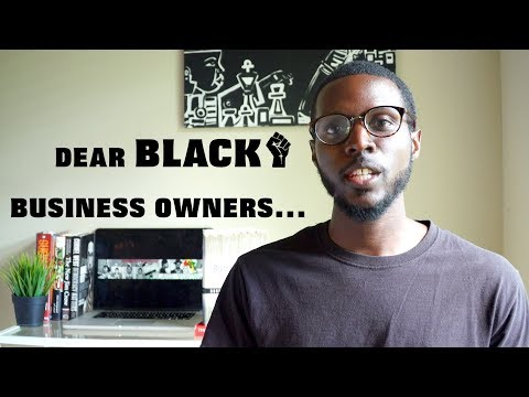dear black business owners…