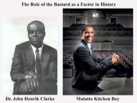 Dr John Henrik Clarke   White Supremacy's  Mulatto  Factor