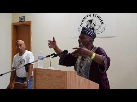 Dr. Leonard Jeffries at Afrikan Echoes