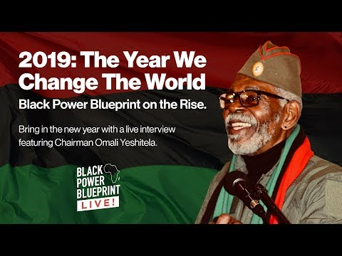 2019: The Year We Change the World! Black Power Blueprint on the Rise.