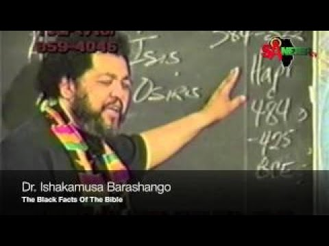 Ishakamusa Barashango The Black Facts Of The Bible