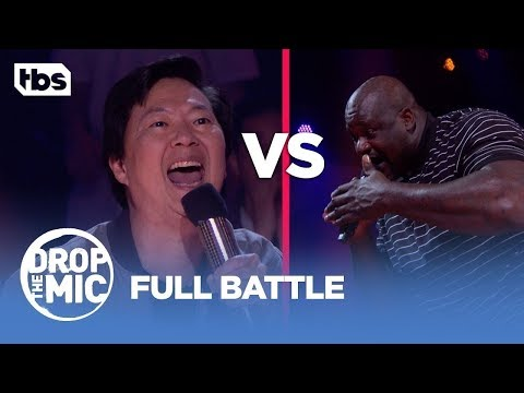 Drop the Mic: Shaquille O'Neal vs Ken Jeong – FULL BATTLE | TBS