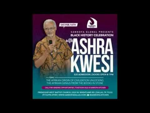 Ashra Kwesi to Speak at Friendship West on February 16, 2019