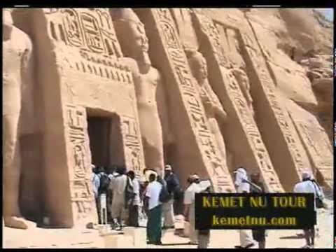 Ashra Kwesi Reveals God's Chosen Children at the Temple of Ramessu   Kemet Egypt