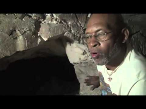 Anthony Browder in Burial Chamber of Karakhamun #1