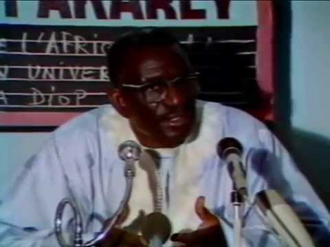 Conférence du Professeur Cheikh Anta Diop