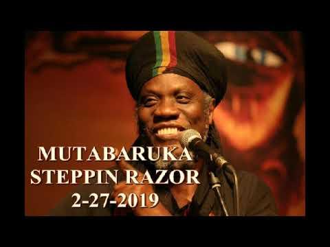 Mutabaruka CUTTING EDGE 2-27-19