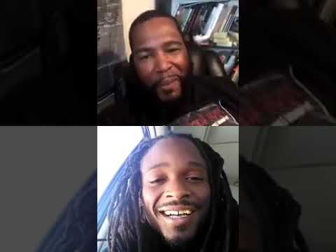 Dr Umar Johnson Talks with Supports on Live (3/19)