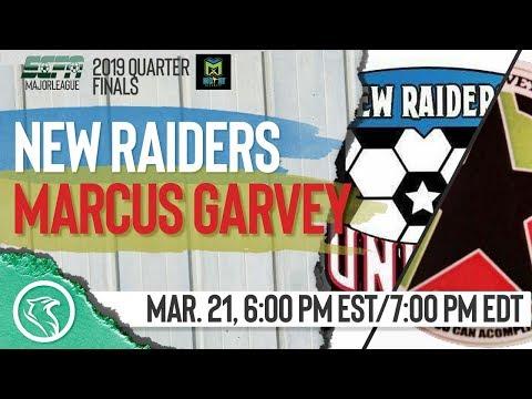 New Raiders FC vs. Marcus Garvey United: March 21, 2019, SCFA Major League Quarter-Finals Leg 2 1/2