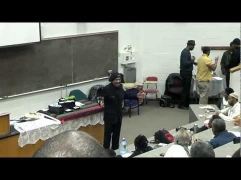 Booker T Coleman (Kaba Kamene) SPEAKS n Cleveland!