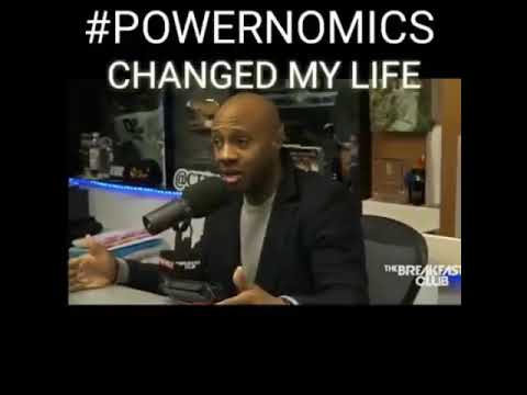 Jay Williams speaks on Powernomics by Dr. Claud Anderson. The breakfast club
