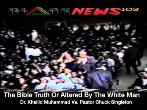 Dr  Khallid Vs  Pastor Singleton About The Bible