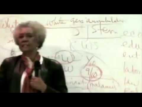 Dr  Frances Cress Welsing Male & Female Relationships