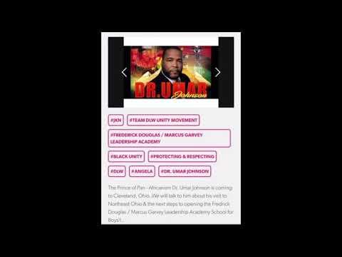 "Dr. Umar Johnson ""Blog Talk Radio Interview 21 Apr 19"""