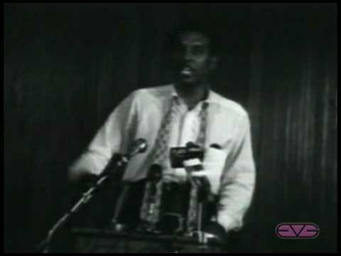 "Stokely Carmichael ""We Ain't Going"" Speech"